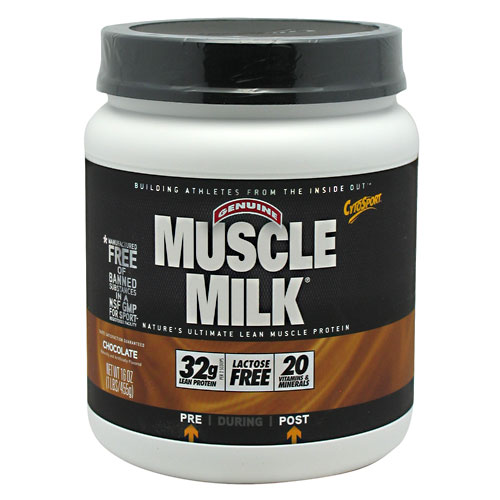 Muscle Milk, 1 Pound, Chocolate Flavor 660726502327