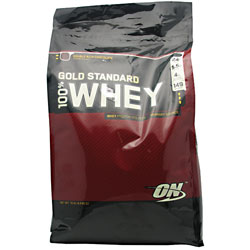 100% Whey Gold Standard, 10 Pounds, Double Rich Chocolate Flavor 748927028713