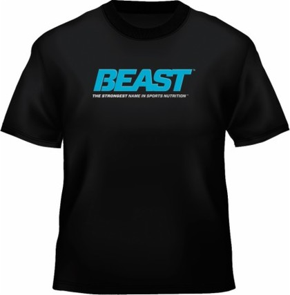 Beast Sports Beast T-Shirt, Black Color