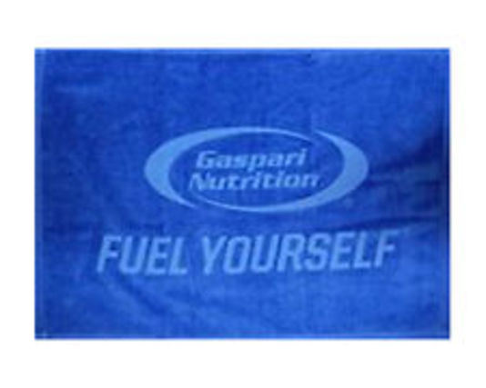 Gaspari Nutrition Gaspari Gym Towel, Blue Color
