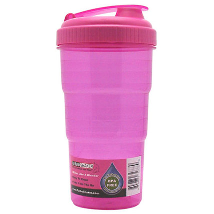 Turbo Shaker TurboShaker Bottle, Pink Flavor