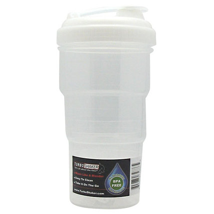 Turbo Shaker TurboShaker Bottle, Clear Flavor