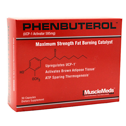 Muscle Meds Phenbuterol, 30 Capsules