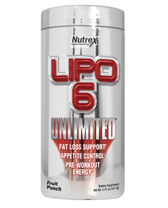 Nutrex LIPO 6 UNLIMITED POWDER, 60 Servings