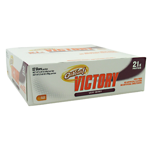 Oh Yeah! Victory Bars, 12 Bars, Very Berry Flavor 788434109147