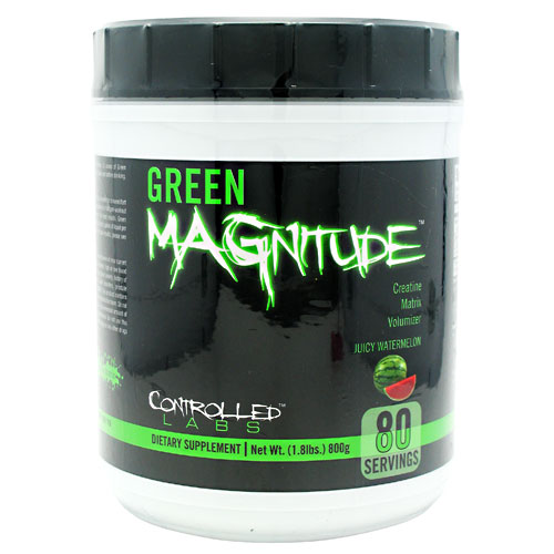 GREEN MAGNITUDE, 80 Servings, Juicy Watermelon Flavor 895328001149