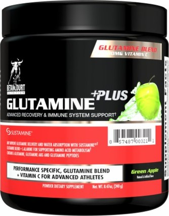 Betancourt Nutrition Glutamine Plus, 30 Servings