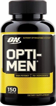 Optimum Nutrition OPTI-MEN, 150 Tablets