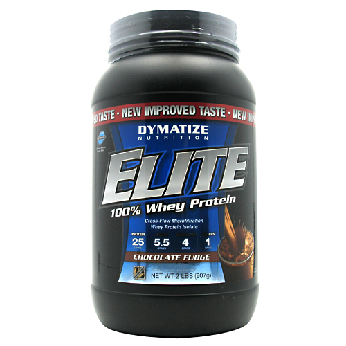 Elite Whey Protein, 2 Pounds, Chocolate Fudge Flavor 705016599080