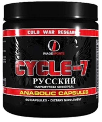Image Sports Cycle-7, 60 Capsules