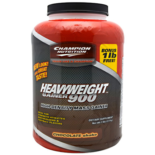 Heavyweight Gainer 900, 7 Pounds, Strawberry Shake Flavor 027692102904