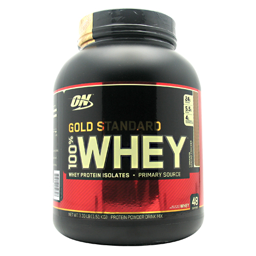 100% Whey Gold Standard, 3.3 Pounds, Cinnamon Graham Cracker Flavor 748927050707