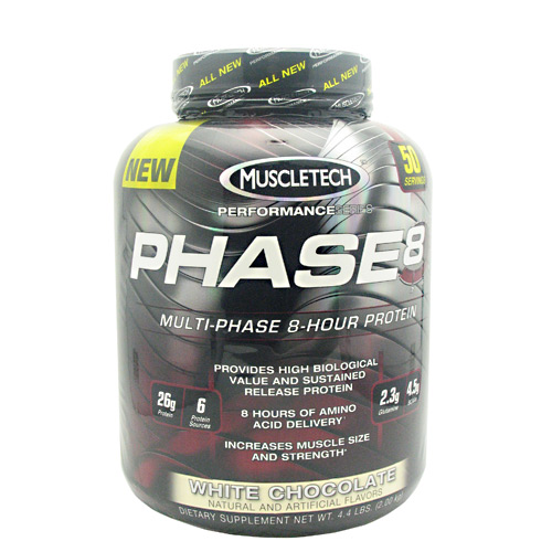 PHASE-8 MULTI-PHASE, 50 Servings, White Chocolate Flavor 631656704839