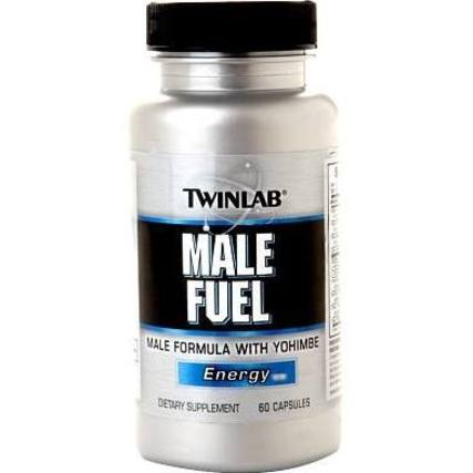 Twinlab MALE FUEL WITH YOHIMBE BARK EXTRACT, 60 Capsules