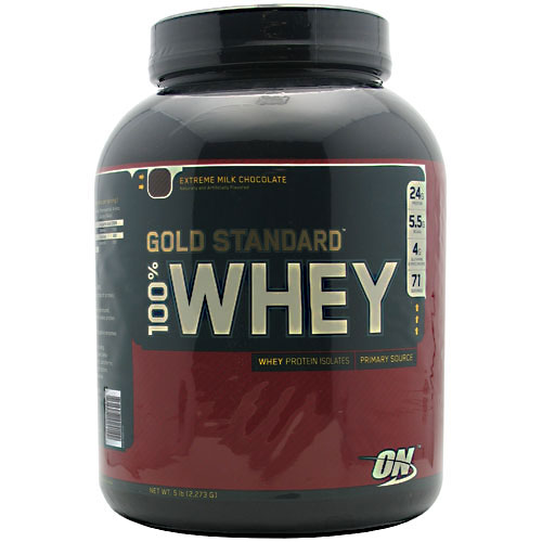 100% Whey Gold Standard, 5 Pounds, Extreme Milk Chocolate Flavor 748927024142
