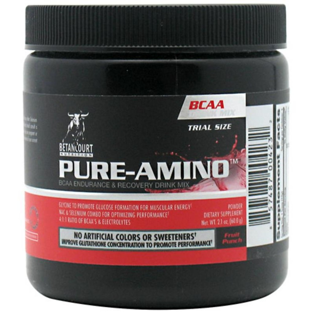 Pure Amino, 5 Servings, Fruit Punch Flavor 857487004232