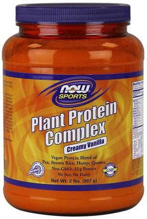 NOW Foods Plant Protein Complex, 2 Pounds