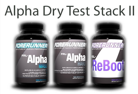 Forerunner Labs Alpha Dry Test Stack II, 1 Kit