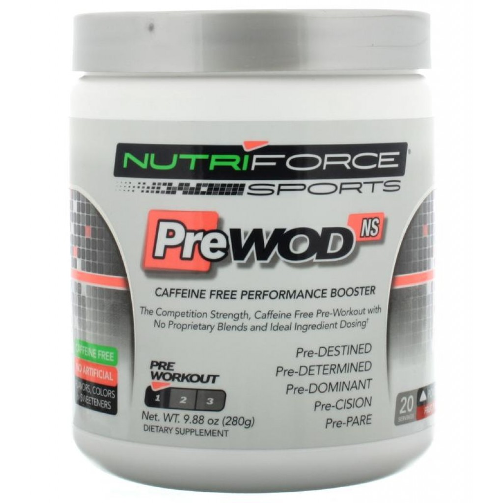 PreWod, 20 Servings, Fruit Punch Flavor 755244017030