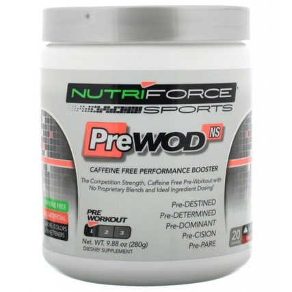 Nutriforce Sports PreWod, 20 Servings