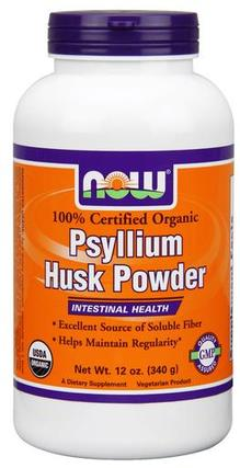 NOW Foods Psyllium Husk Powder, 12 Ounces