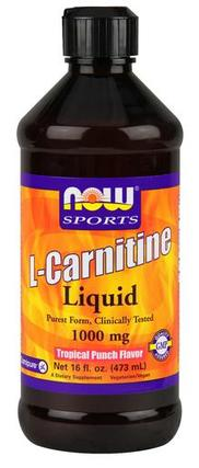 NOW Foods L-Carnitine Liquid 1000 mg., 16 Ounces