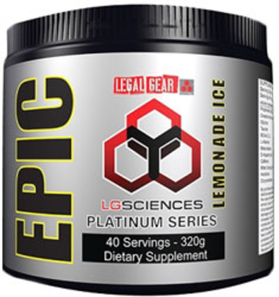 LG Sciences Epic Powder, 40 Servings