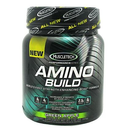 Muscletech AMINO BUILD, 50 Servings