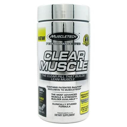 Muscletech Clear Muscle, 168 Capsules