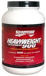 Heavyweight Gainer 900, 3.3 Pounds, Vanilla Flavor 027692101808