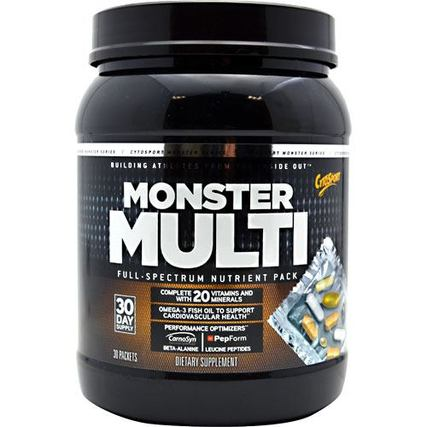 Cytosport Monster Multi, 30 Packets