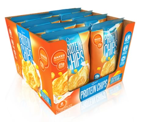 Quest Protein Chips, 8 Bags