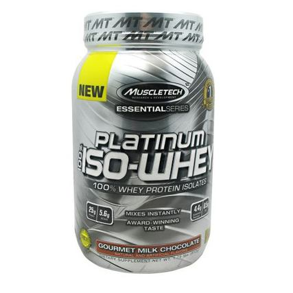 Muscletech 100% Platinum Iso-Whey, 26 Servings