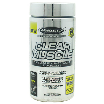 Muscletech Clear Muscle, 84 Capsules
