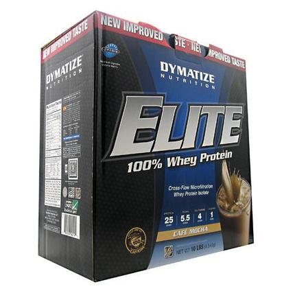 Dymatize Elite Whey Protein, 10 Pounds