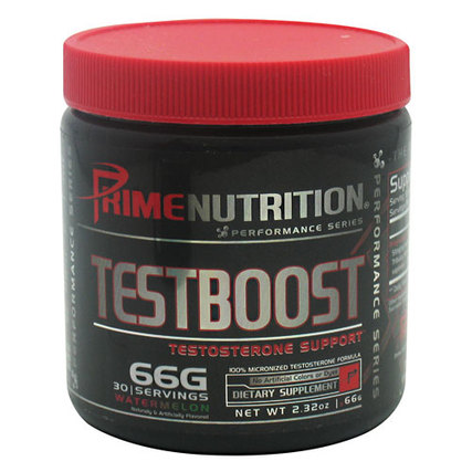 Prime Nutrition TESTBOOST, 30 Servings