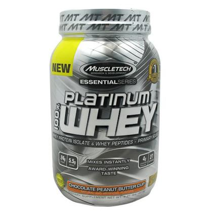 Muscletech 100% Platinum Whey, 2 Pounds