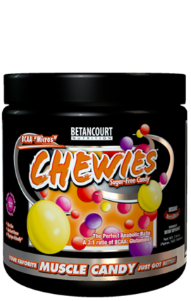 Betancourt Nutrition BCAA Micros Chewies, 21 Servings
