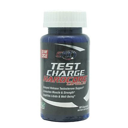 All American EFX Test Charge Hardcore, 60 Capsules
