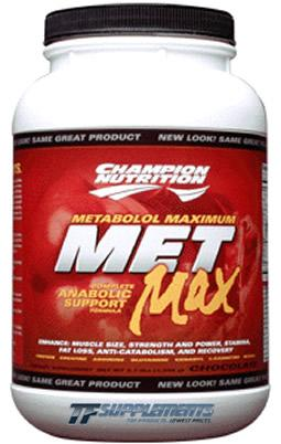 Champion Nutrition Met-Max, 20 Servings