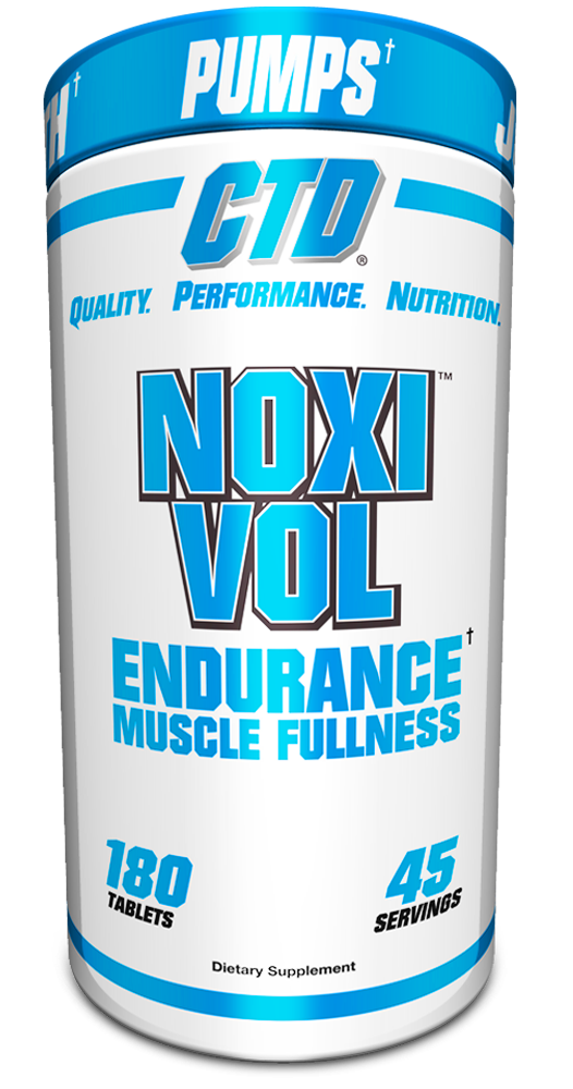 Noxivol Strength Enhancing Vasodilator, 180 Tablets 094922889966