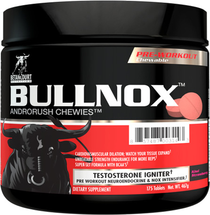 Betancourt Nutrition Bullnox Androrush Chewies, 175 Chewables