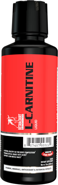 L-CARNITINE Concentrate, 16 Ounces, Fruit Punch Flavor 857487003518