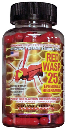 Cloma Pharma Red Wasp, 75 Capsules
