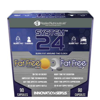 Applied Nutriceuticals System 24 FAT FREE AM/PM, 1 Kit