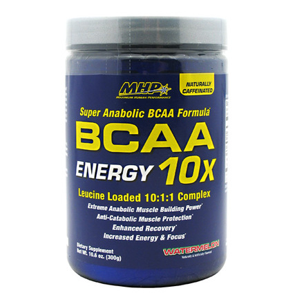 MHP BCAA 10X Energy, 30 Servings