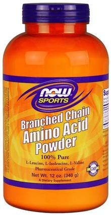 NOW Foods Branched Chain Amino Acid Powder, 12 Ounces