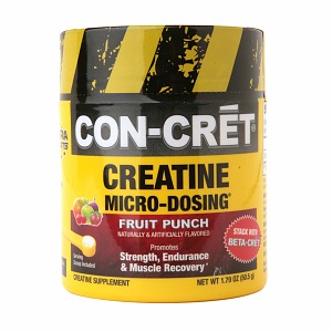 Con-Cret Concentrated Creatine, 48 Servings, Fruit Punch Flavor