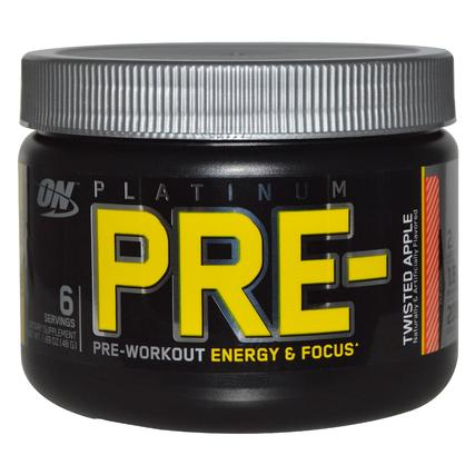 Optimum Nutrition PLATINUM PRE, 6 Servings