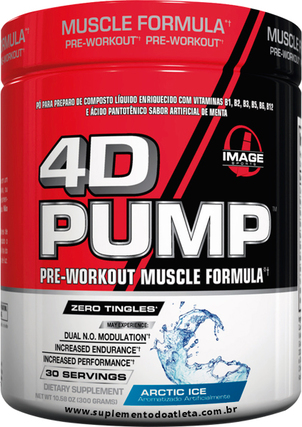 Image Sports 4D PUMP, 30 Servings